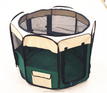 outdoor playpen pet exercise pen foldable puppy fence