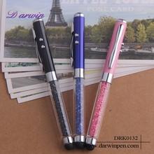 Promotional gifts multi-function ballpoint pens metal laser pen