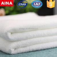 China supplier high quality 100% cotton Jacquard weave white magic textile