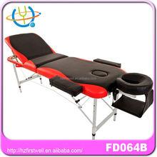 Super quality aluminum folding bed massage mixed coolors