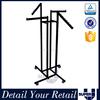 Hot sale durable customized metal black paint display rack