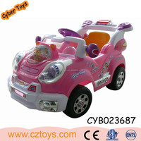 Top Sales power wheels toy car ride on car 6v toy car for big kids 2015 with MP3