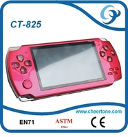 Multimedia Pocket 4.3 inch 32 bit handheld game, portable games player console with 1.3MP camera