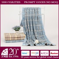 Sandy Jacquard Scotland blue color pure cotton beach towel bath towel