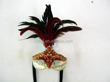 Party beautiful carnival feather mask for party decoration MSK184