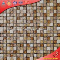 KS34 mosaic tile in foshan china tiffany stained glass mosaic stone patterns mosaic stone patterns for living room