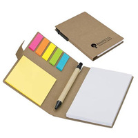 Sticky Note Book with Pen