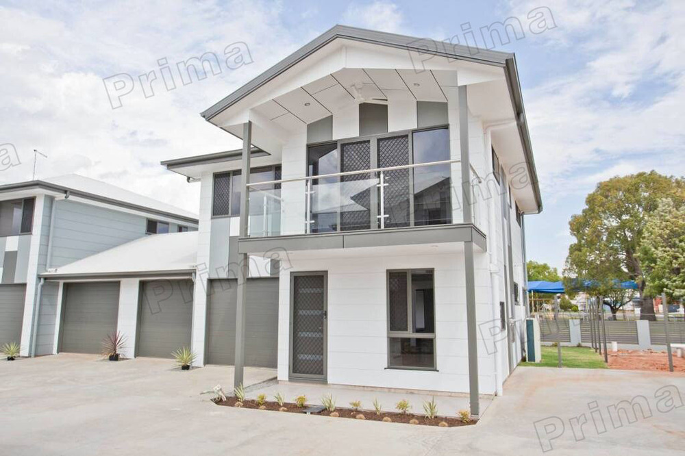 Exterior stainless steel railing handrail balcony steel for Exterior balcony railing design