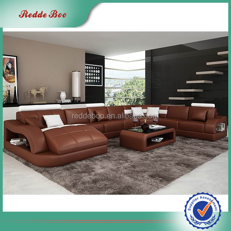 French Style Modern Sectional Sofa Set Dubai Leather Sofa Furniture.  Product Description. 9026 (2) ...