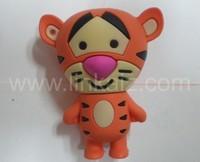 Cheap creative tiger cartoon 4gb usb flash drive