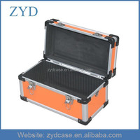 Aluminium small Instruments box lightweight tool case with EVA liner, ZYD-MR551