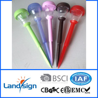 new produce traffic signal pole decorate garden and yard value coloured solar Solar Lamp Post XLTD-939