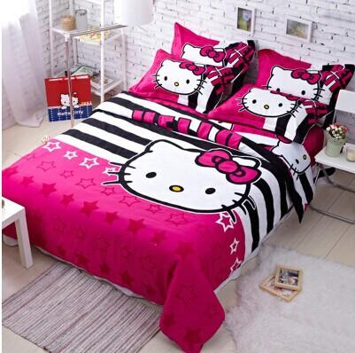 Kitty King hello bedding