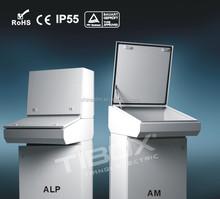 TIBOX metal enclosure distribution box metal operation desk, sheet metal process OEM service