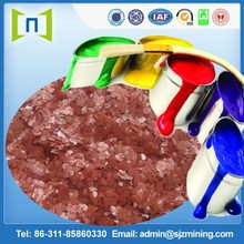 10 mesh rust mica powder for paint