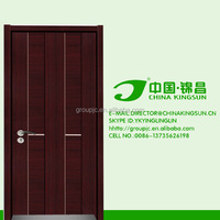 stainless steel exterior security newest design elegant hard surface good quality melamine doors