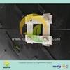 Non-slip plastic ground cover mat, anti-skid hard plastic floor mat, durable UHMW-PE plate