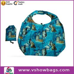 Popular design shopping bag foldable directly from factory