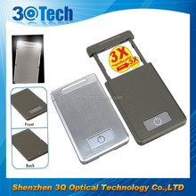 DH-84002 low price card pocket credit card size magnifier