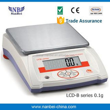 High sensitive CE approved electronic scales balance with LCD