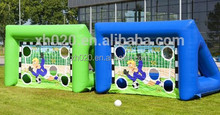 2015 Popular inflatable funny soap football for kids training 4x2x2.5m