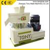 (M) Circulating oil-cooling lubrication system palm fiber pellet machine