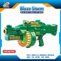 airsoft rifle With Soft Foam Darts Missiles/airsoft rifle wholesale toys/abs plastic green airsoft rifle toy gun