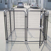 medium metal out door dog kennels direct factory/large outdoor durable metal dog run kennel