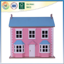 Russian prefabricated house wooden as your baby's gift