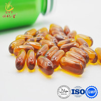 High quality Flaxseed oil softgel, Virgin cold pressed oil soft capsule, anti-aging supplement