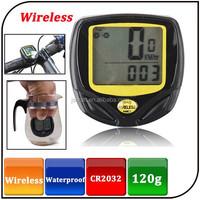 Wholesale IP67 wireless cycle computer bicycle speed meter