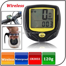 Wholesale IP67 wireless cycle computer bicycle speed meter