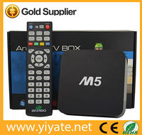 New!!! High Quality M5 Amlogic S805 quad core hd sex pron video tv box