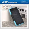 Smart promotional gift waterproof portable solar power bank with 6500mah