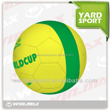 Official size World Cup soccer ball, special design rubber soccer ball/ football