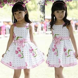 VF275 wholesale kids dresses for girls european style