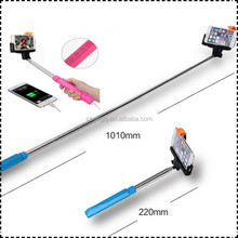 multifunctional monopod selfie stick power bank