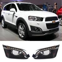 Auto LED Daytime Running Lights Car DRL For Chevrolet Captiva 2014 2015 2016