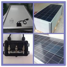 A grade cell high efficiency 12V 100 watt solar panel