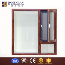 ROGENILAN 1314# factory customized heat-insulation lowes aluminum bay window
