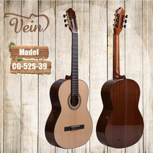 professtional nylon string classical guitar solid body