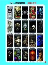 CrossBones Skull Heads Picture Printing universal phone case