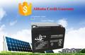 12v24ah batería solar batería de plomo manufucturer in china, JL marca, Can OEM