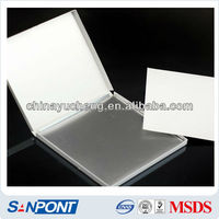 SANPONT Chemical Auxiliary Agent Diesel Decolorizing Thin Layer Chromatography Silica Gel Aluminum Foil Plate
