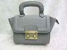 High quality pu women's bag leather women hand bag manufacture in Shezhen