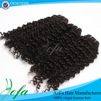 2013 Good sales and High quality virgin brazilian jerry curl hair weave