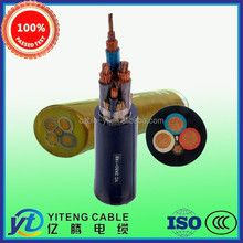 Soft Electric Coal Drill Mining Cable with Metalic Screen and Monitoring Cores