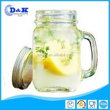 mason jar with handles drinking glass