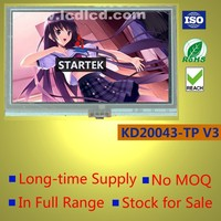 4.3 inch TFT LCD display panel with resistive touch panel and 8-bit and 16-bit MCU interface