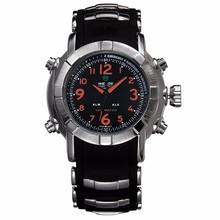 3ATM quartz men stainless steel watch, high quality luxury man watch